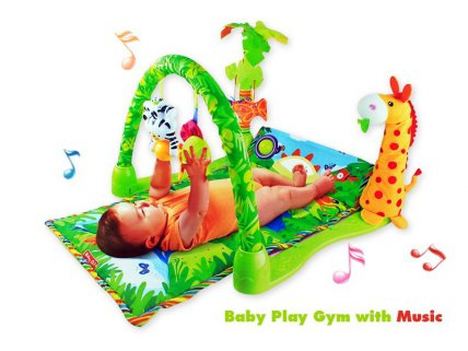 3 in 1 Baby Gym Play-Mat with Music