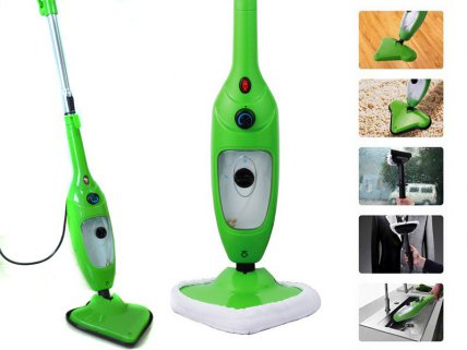 5 in 1 Chemical Free Steam-Mop with 2 Pads