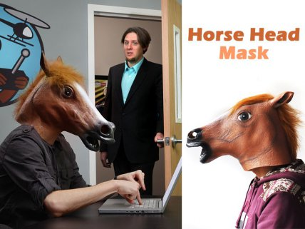 Horsing Around Head Mask