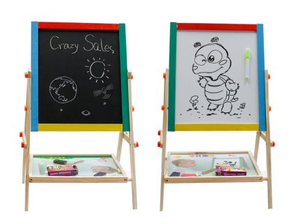 Children's Double-Sided Drawing Board