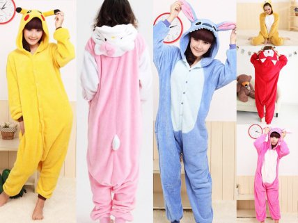 Animal Onesie Unisex Pyjamas