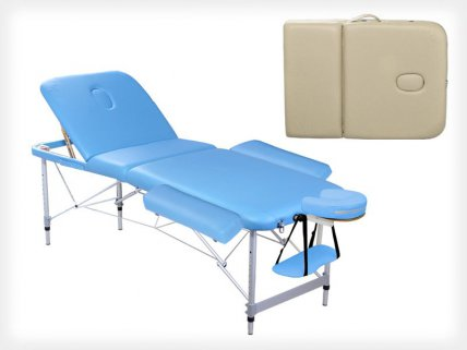 3 Section Portable Aluminium Massage Table