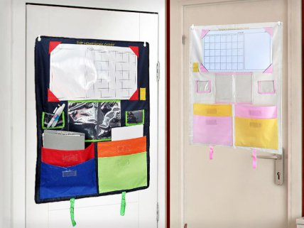 Kids Hanging Stationery / Homework Organizer
