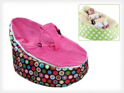 Baby to Toddler Bean Bag with Safety Belt