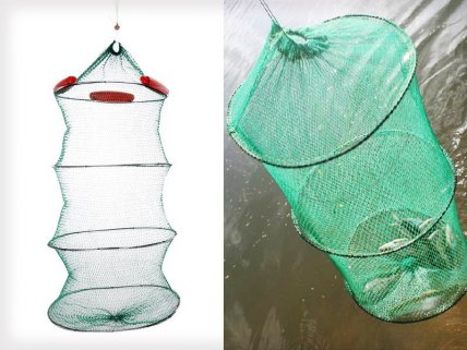 Collapsible Wire Keeper Net With Float