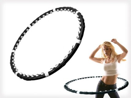 Weighted Magnetic Fitness Hula Hoop