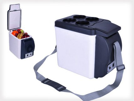 6L Portable Cooler/Warmer Car Refrigerator