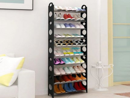 10 Tier Detachable Shoe Rack