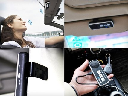 Bluetooth Handsfree Speakerphone Car Kit