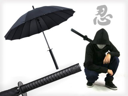 Samurai Sword Handle Umbrella