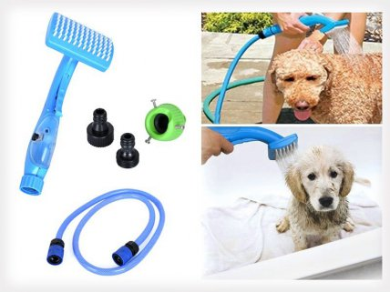 Pet Washing and Grooming Shower System