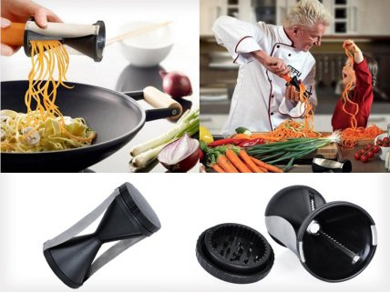 Kitchen Spiral Vegetable Slicer