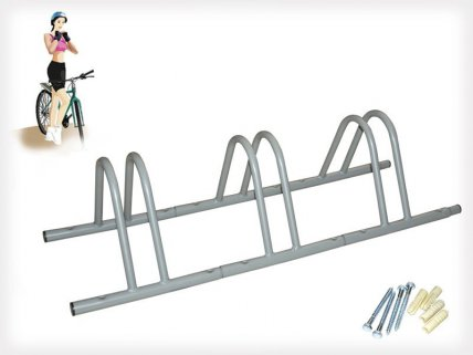 Three Slot Splicing Bike Stand - Extendable Design