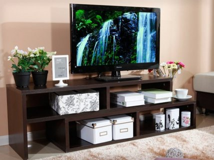 2-Level Adjustable Entertainment TV Unit