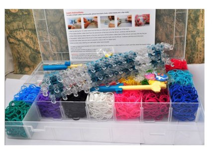 4200pc Mega Loom Band DIY Kit