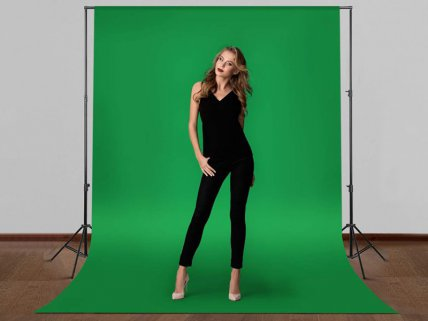 3 x Photography Studio Backdrops + Stands