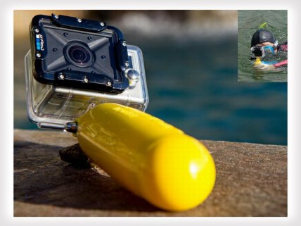Gopro Buoyancy Bar with Wrist Strap