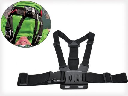 Chest Strap With 3-way Adjustable Mount for GoPro