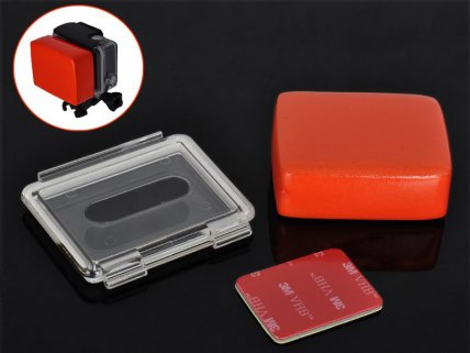 Gopro Hero Waterproof Back Shell with Buoy