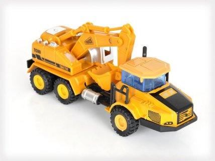 3pc Truck and Bulldozer Construction Set