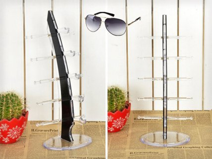 5 Pair Sunglass Display Stand