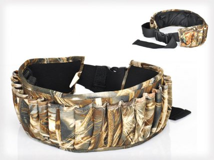 Hunting Shotgun Belt Bag - Hold 25 Bullets
