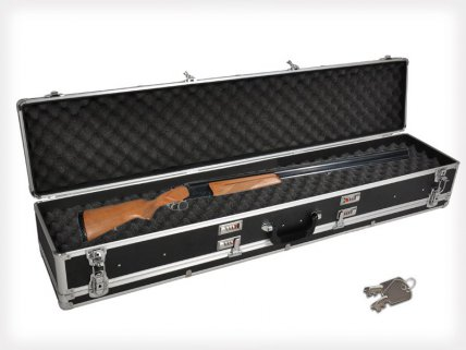 Hard Shell Aluminium Case Safe for 2 Guns