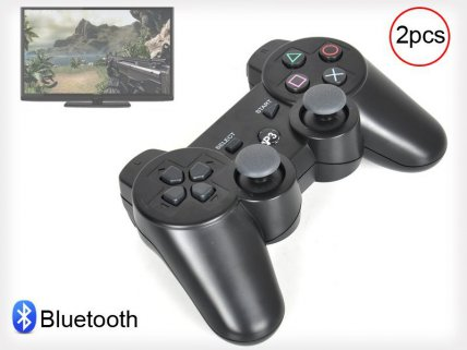 2 x SixAxis Bluetooth Controllers for PS3