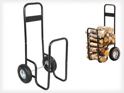 Firewood Trolley Cart For Logs