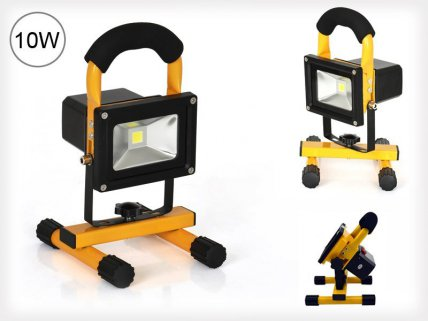 10W Rechargeable LED Flood Work Light