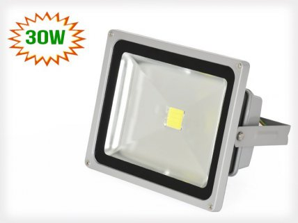 30w Cool White LED Outdoor Floodlight