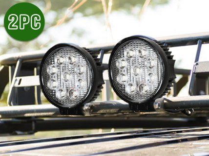 2 x 27W LED Work / Off-Road Floodlights