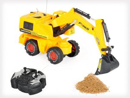 Remote Control Digger Car Toy