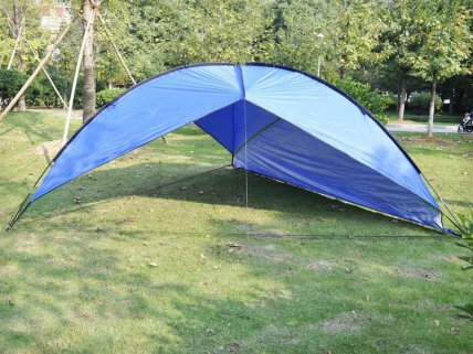 5M Outdoor Triangular Camping Canopy Awning Tent