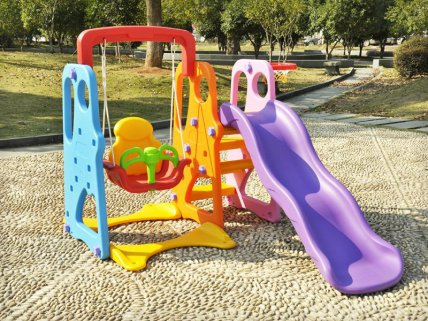 Indoor / Outdoor Kid's Slide Swing Set