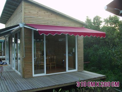 Retracting Sun Shade / Folding Awning