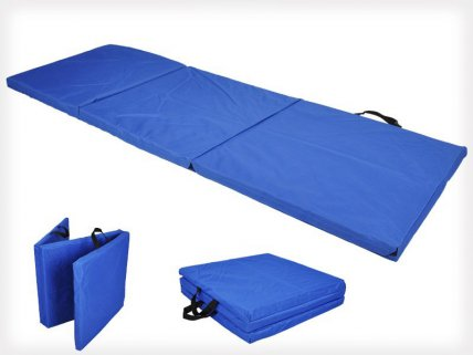 Trifold Fitness / Training Floor Mat with Handles