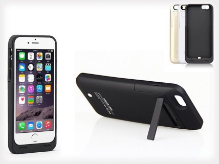Battery-Extender Case for iPhone 6/6s 3500mAh
