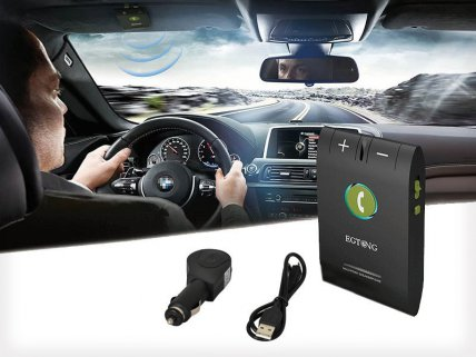 Handsfree Bluetooth Speakerphone Car Kit