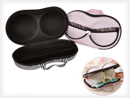 2 x Travel Bra Storage Organiser Bag