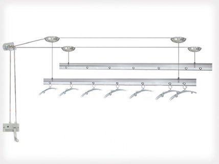 1.5m Length Ceiling Mounted Laundry Drying Rack