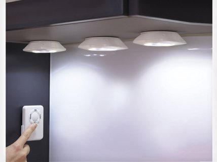3 x Wireless LED Cabinet Light with Remote Control