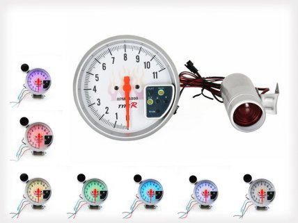 5 inch 7 Color Tachometer with Shift Change