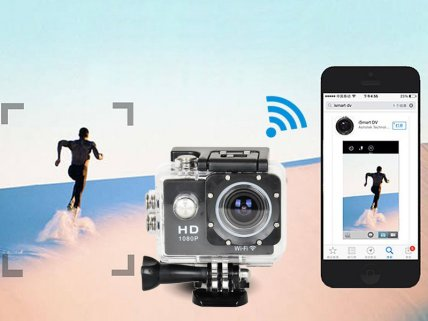 1080P WIFI Waterproof HD Action Sports Camera