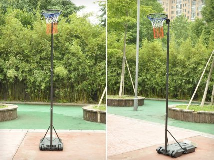 Outdoor Height Adjustable Netball Stand