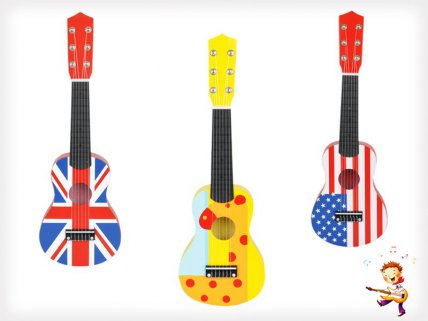 Children's Wooden Guitar Toy