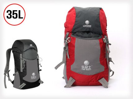 35L Foldable Camping Tramping Backpack