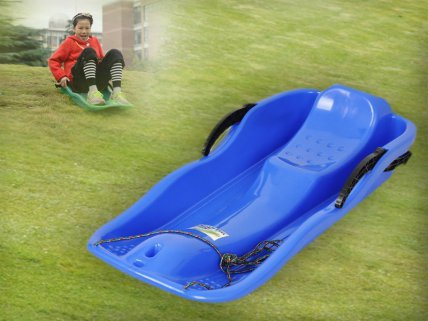 All-Season Snow / Grass Sled with handle