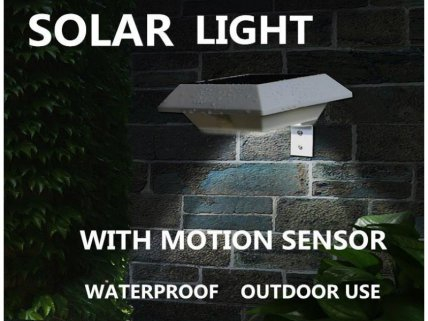 Square Solar Motion Light -1 Pack