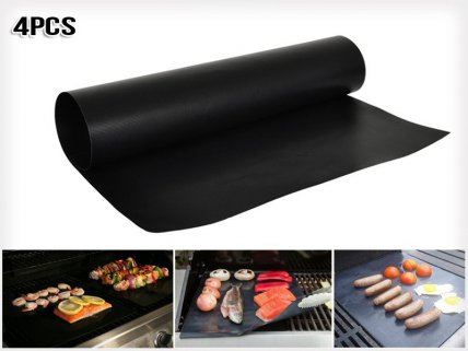 Four BBQ Hotplate Liners